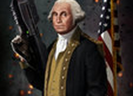 George Washington The Original Master Chief by *SharpWriter on deviantART