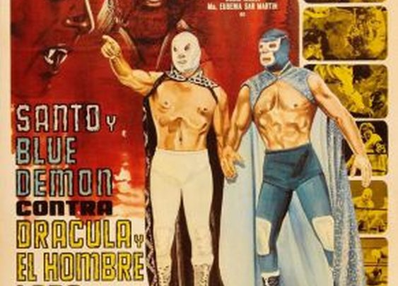 SANTO AND BLUE DEMON vs. DRACULA AND THE WOLFMAN