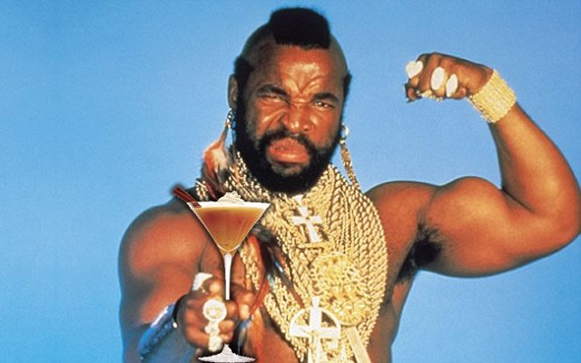 I pity the fool who doesn't make a pumpkin pie martini this Halloween
