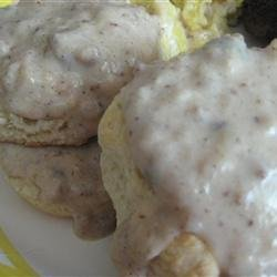 Big Mike's Redeye Biscuits 'n' Gravy
