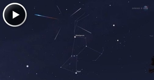 The Orionid Meteor Shower  - NASA Science