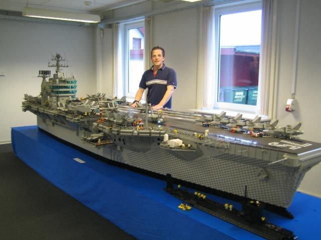 Lego Aircraft Carrier