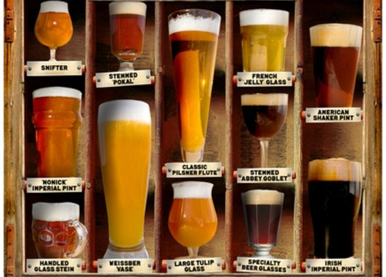 Beer Glass Types | Craft Beer Academy - StumbleUpon