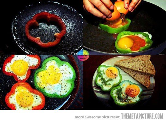 A brilliant way to make breakfast