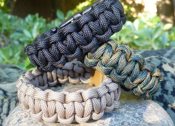 Tactical Paracord Survival Band by CordBand | Cord Bands