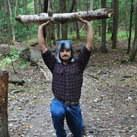Exercise Outdoors with the Woodsman Workout