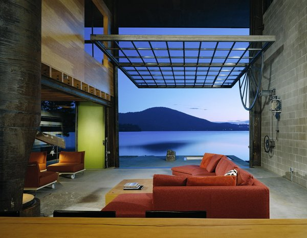 Chicken Point Cabin by Olson Kundig Architects