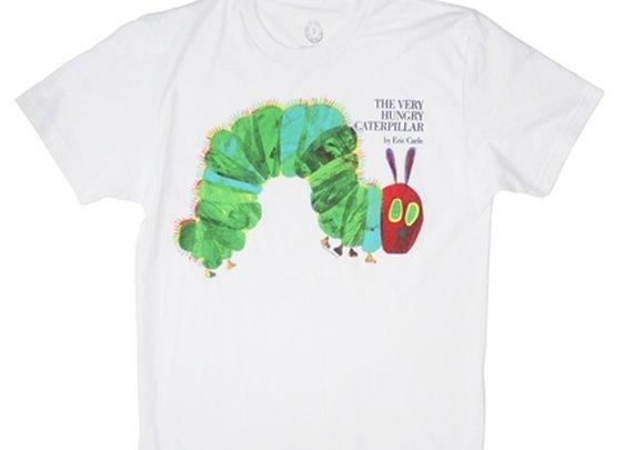 The Very Hungry Caterpillar book cover t-shirt   Outofprintclothing.com