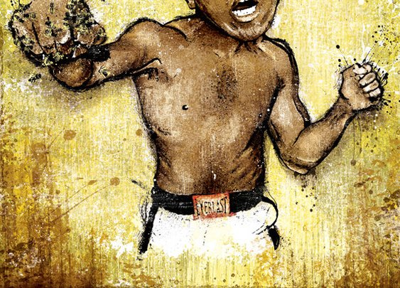 "Muhammad Ali's ""All These Kings"" Art Print"