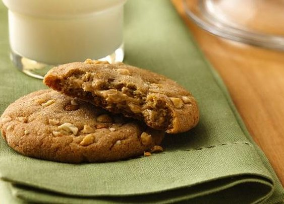 Double-Delight Peanut Butter Cookies Recipe from Pillsbury.com
