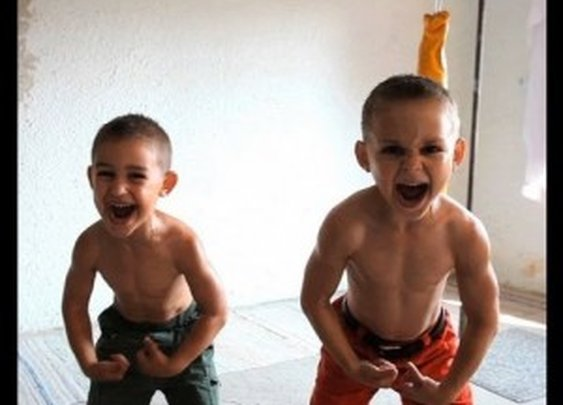 Video: Possibly The World's Strongest Kids