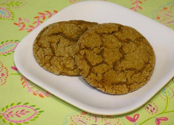 Ginger-molasses cookies | Living the Country Life