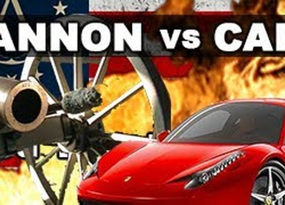 Cannon vs Car in Slow Motion: The Breakdown -- Assassin's Creed III RatedRR