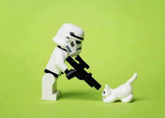 Lego Star Wars Photography