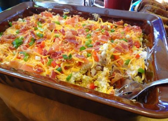 Chili-corn bread salad   Living the Country Life