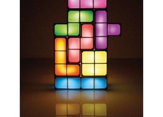 Geek decor: Tetris lamp