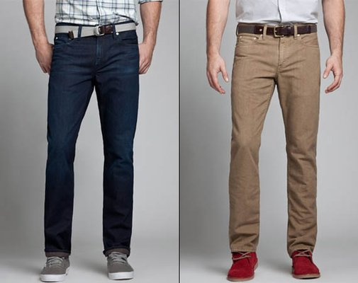 Bonobos Recycled Beer Bottle Jeans