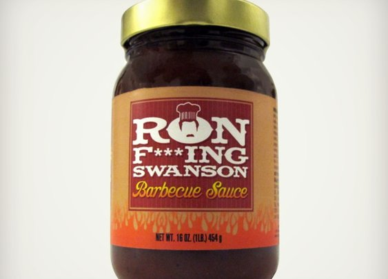 Ron F***ing Swanson BBQ Sauce   Cool Material