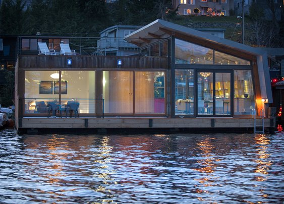 Portage Bay Floating Home