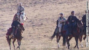 US Special Forces rode horses into combat during the 2001 invasion of Afghanistan