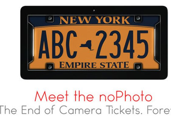 With This Ingenious License Plate Frame, Say Goodbye to Traffic Camera Tickets