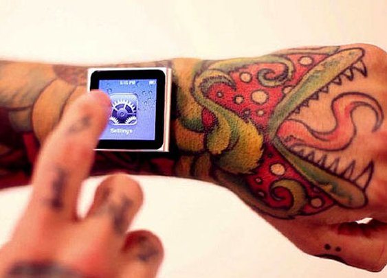 Magnetic Implants Attach Your iPod to Your Wrist