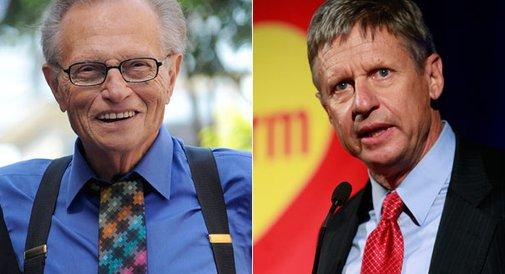 Larry King hosts third-party faceoff - Mackenzie Weinger - POLITICO.com