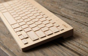 Keyboard Made From a Single Piece of Wood