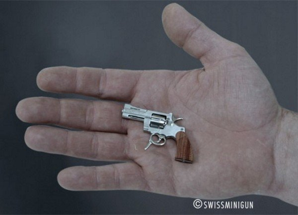 The World's Smallest Fully-Functioning Revolver