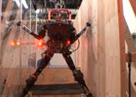 Watch Darpa's Rescue Robot Jump, Climb and Dodge Obstacles | Danger Room | Wired.com