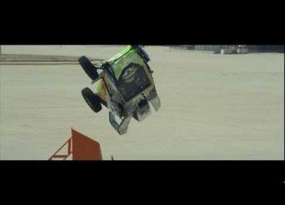 Video: Hot Wheels World Record: Corkscrew Jump