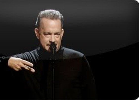 "Tom Hanks Performs Slam Poem About ""Full House"""