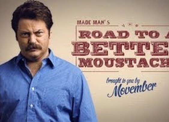 How to Grow a Moustache with Nick Offerman - YouTube