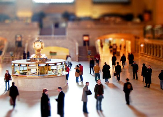 25 Stunning Examples of Tilt-shift Photography