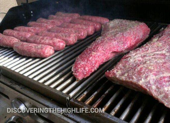 Top quality Top Sirloin and brats.