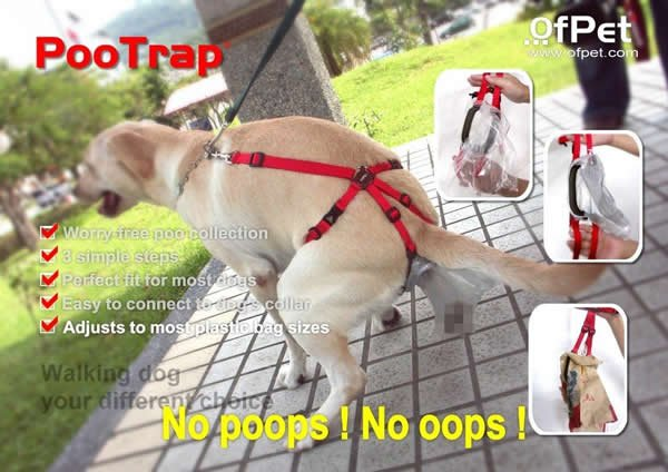 PooTrap For Dogs Just Doesn't Seem Normal