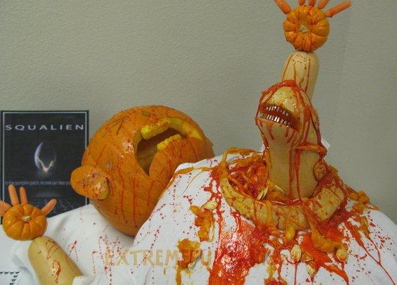 21 random, gross and funny pumpkin carvings