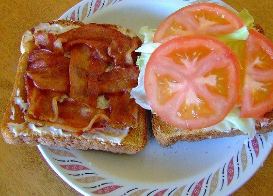 BACON weave sandwich