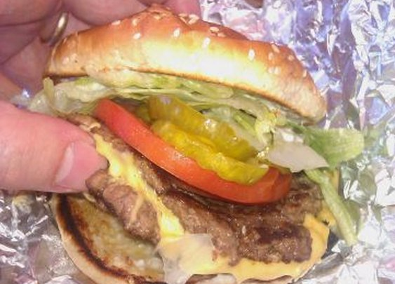 5 Guys does it right.