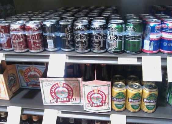 There is nothing wrong with canned craft beer.