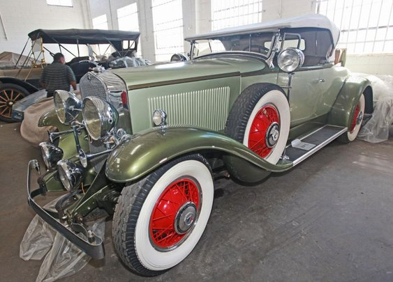 1931 Cadillac Lasalle Roadster Convertible Coupe- Classic Cars on GovLiquidation.com