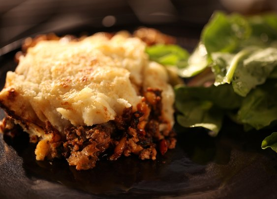 Cast-Iron Ground Beef Pie Recipe :   : Recipes : Cooking Channel