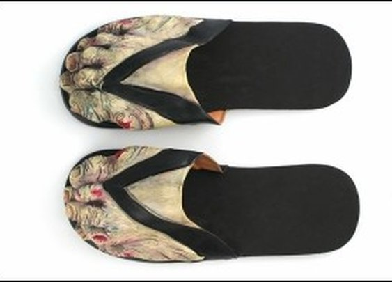 Zombie Sandals for Halloween