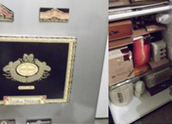 Convert a Dorm Fridge Into a Cigar Humidor