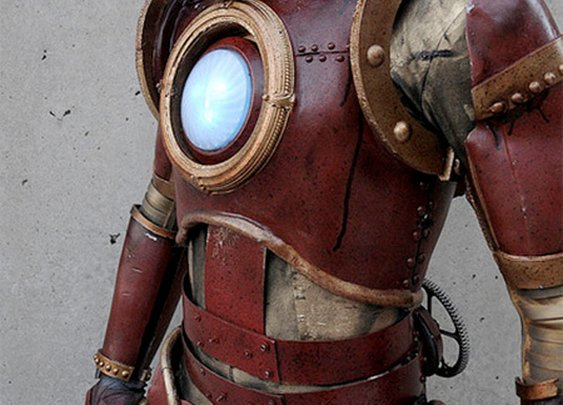 Steampunk Iron Man Costume
