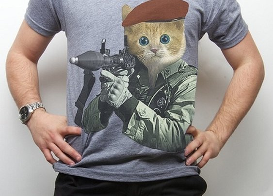 Men's G.I. Kitty Tee