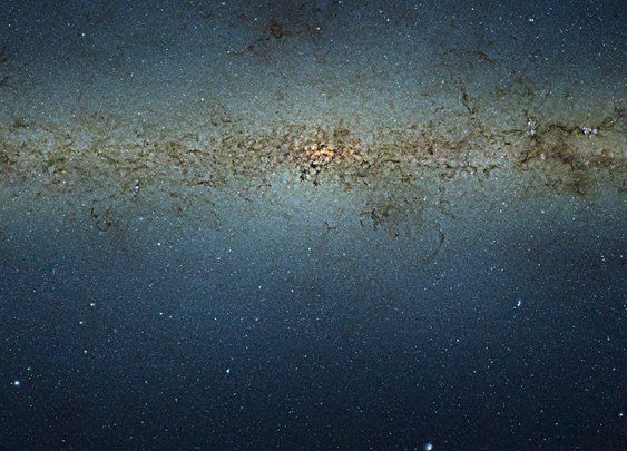 The Milky Way as you've never seen it before: New pictures from nine GIGAPIXEL camera reveal our galaxy in unprecedented detail
