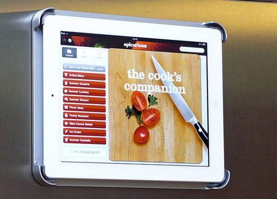 iPad Fridge Mount
