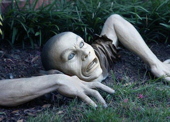 Zombie Garden Ornament