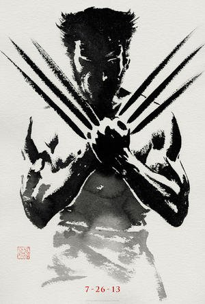 "Fox Reveals First Official Poster For ""The Wolverine"""